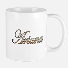 Gold Ariana Mugs
