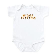 Mi Caca es Su Caca Infant Bodysuit