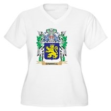 Darrell Coat of Arms (Family Cre Plus Size T-Shirt