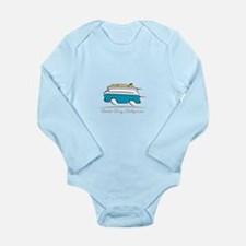 Chevrolet Corvair Gree Long Sleeve Infant Bodysuit