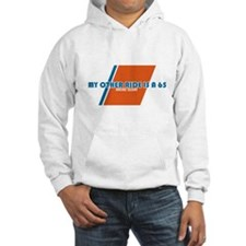 USCG- My Other Ride is a 65-Cleat Hoodie