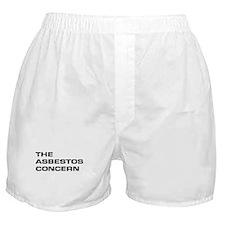 """The Asbestos Concern"" Boxer Shorts"