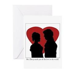 Jane Austen Valentine Cards (Pk of 10)