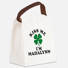 Cute Madalynn Canvas Lunch Bag