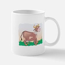 Cute Brown Cow Mug
