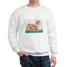 Cute Brown Cow Sweatshirt
