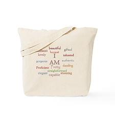 I AM.png Tote Bag