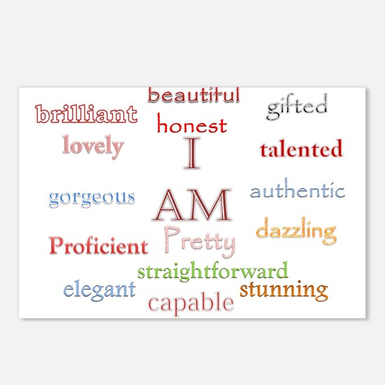 I AM.png Postcards (Package of 8)