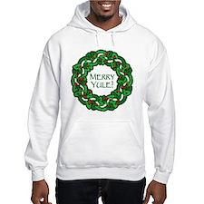 Celtic Yule Wreath Hoodie
