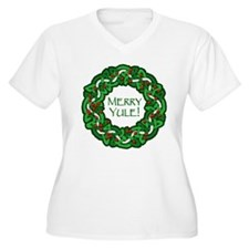 Celtic Yule Wreath T-Shirt