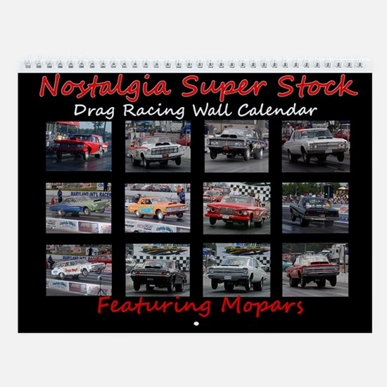 NSS Cars of Walter P. Launching Wall Calendar