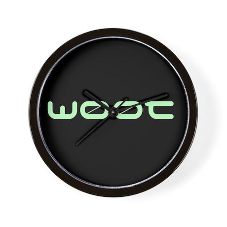woot w00t Wall Clock