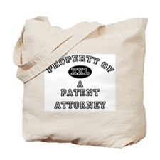 Property of a Patent Attorney Tote Bag