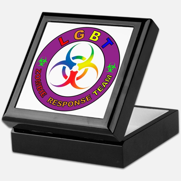 LGBT ZRT Rainbow Keepsake Box