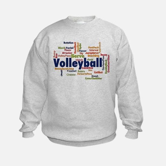 Volleyball Hoodie Sweatshirt