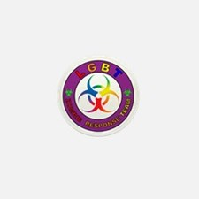 LGBT ZRT Rainbow Mini Button