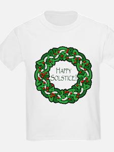 Celtic Solstice Wreath T-Shirt