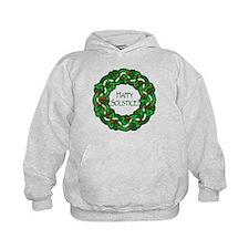 Celtic Solstice Wreath Hoodie