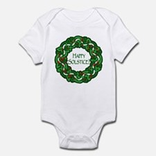 Celtic Solstice Wreath Infant Bodysuit