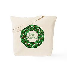 Celtic Solstice Wreath Tote Bag