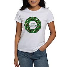 Celtic Solstice Wreath Tee