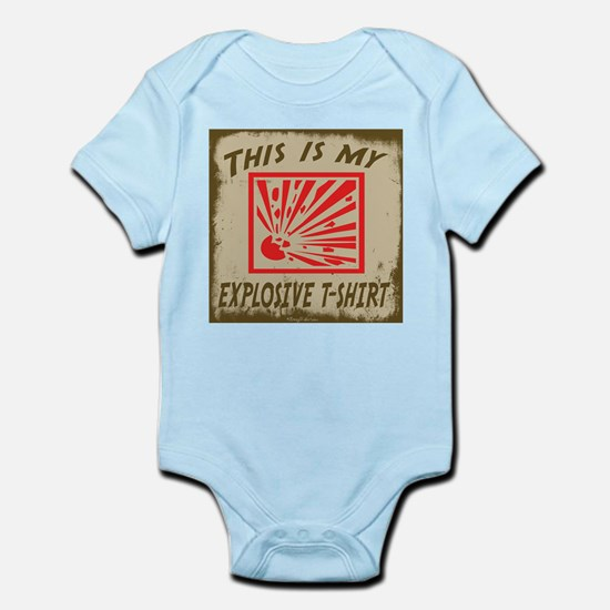 My Explosive T-Shirt 2 Infant Bodysuit