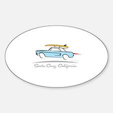 Ford Mustang Hardtop Santa Cruz Decal