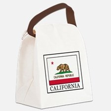 California the golden state Canvas Lunch Bag