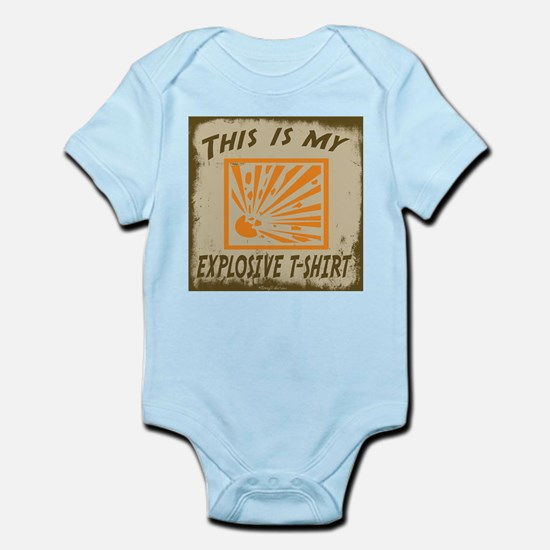 My Explosive T-Shirt Infant Bodysuit