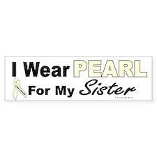 I Wear Pearl 3 (Sister LC) Bumper Bumper Sticker