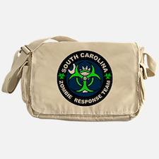 SC ZRT Green Messenger Bag