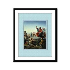 Sermon on the Mount-Bloch-9x12 Framed Print