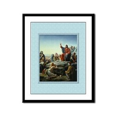 Sermon on the Mount-Bloch-9x12 Framed Print