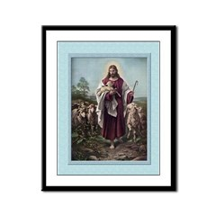 Good Shepherd-Plockhorst-9x12 Framed Print