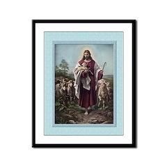 Good Shepherd-Plockhorst-9x12 Framed Print