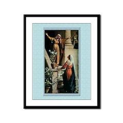 Visitation-Bloch-9x12 Framed Print