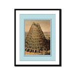 Tower of Babel-Valkenborgh-9x12 Framed Print