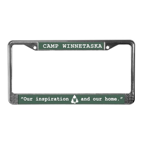 Winnetaska Forever License Plate Frame