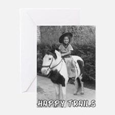 Happy Trails Pony Ride Greeting Cards