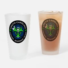 SC ZRT Green Drinking Glass