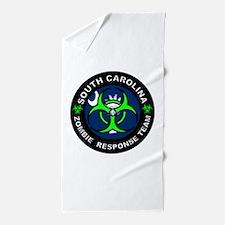 SC ZRT Green Beach Towel