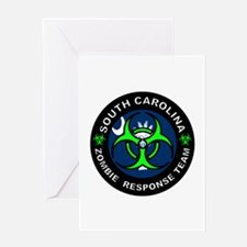 SC ZRT Green Greeting Cards