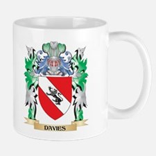 Davies Coat of Arms (Family Crest) Mugs