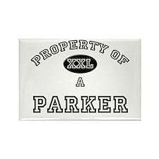 Property of a Parker Rectangle Magnet