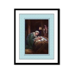 The Nativity-Unknown-9x12 Framed Print