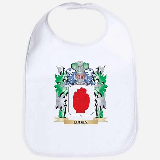 Davin Coat of Arms (Family Crest) Bib