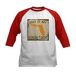 My Florida T-Shirt Kids Baseball Jersey