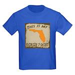 My Florida T-Shirt Kids Dark T-Shirt