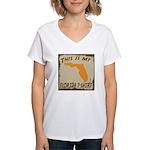 My Florida T-Shirt Women's V-Neck T-Shirt