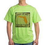 My Florida T-Shirt Green T-Shirt